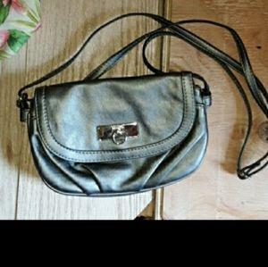 Rosetti womens Small silver purse